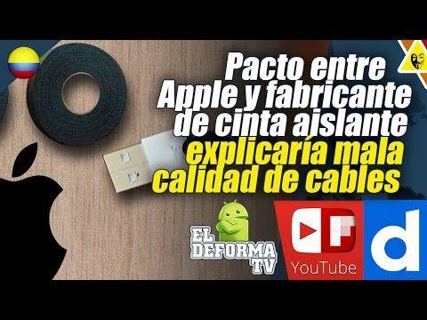 7 Pacto entre Apple y fabricante de cinta aislante explicaría mala calid...