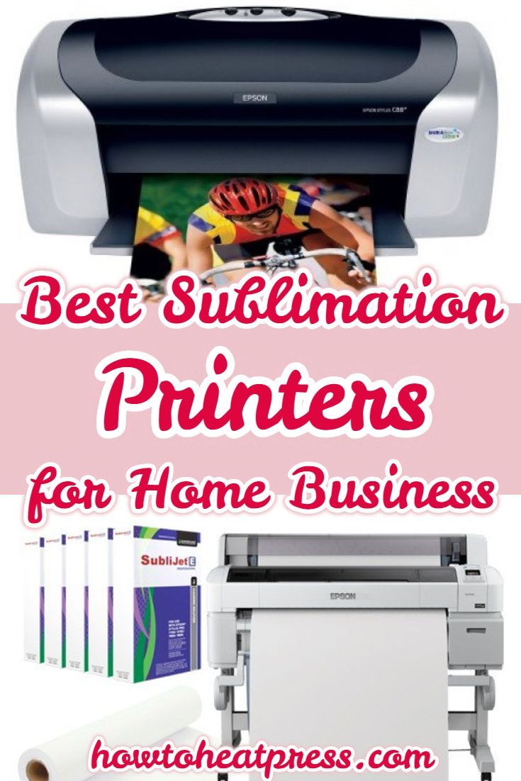 The Best Sublimation Printers For Starter & Advanced Home Business