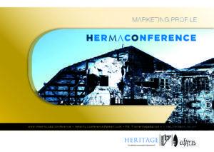 """Ένα παράθυρο στο μέλλον του πολιτισμού και της διαχείρισης της πολιτιστικής κληρονομιάς ανοίγει από τις 22 ως τις 24 Σεπτεμβρίου στις εγκαταστάσεις του Παλαιού Ελαιουργείου της Ελευσίνας, όπου θα φιλοξενηθεί το 4ο Διεθνές Συνέδριο Διαχείρισης Πολιτιστικής Κληρονομιάς """"HerMa Conference"""", σε συνεργασία με την Ελευσίνα 2021. Μνημεία σε ερείπια---Ερείπια ως μνημεία. Αυτή είναι η θεματική του 4ου ΗΜΟ International HerMa Conference που έρχεται ξανά στην Ελευσίνα!"""