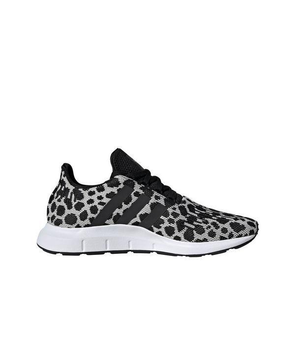 Adidas Swift Run Raw White Black Women S Shoe Hibbett City Gear Black Shoes Women Casual Shoes Women Adidas Shoes Outlet