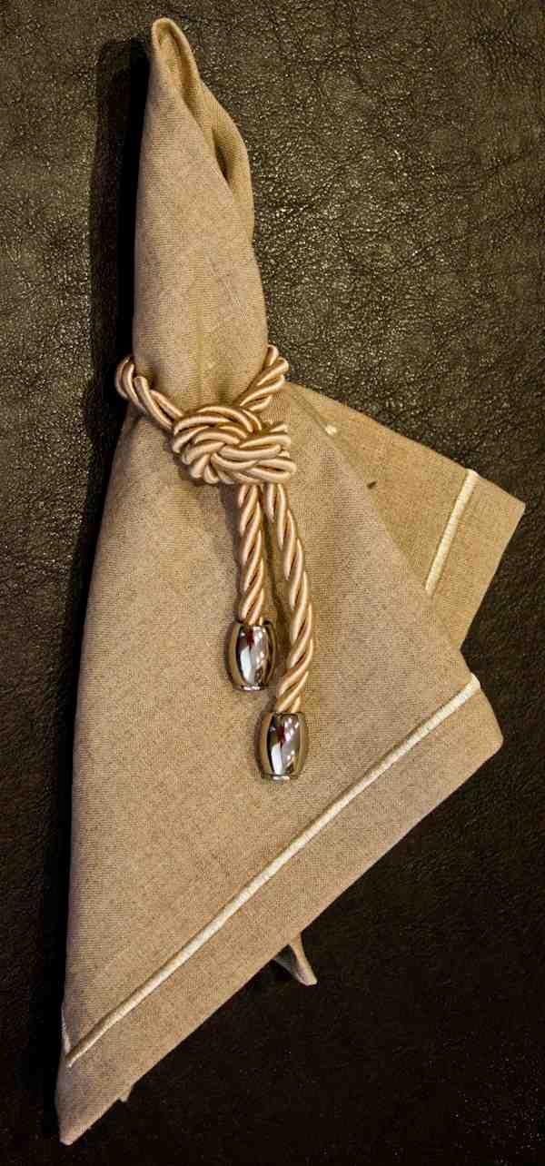 anel de guardanapo com cordao como fazer - Pesquisa Google …