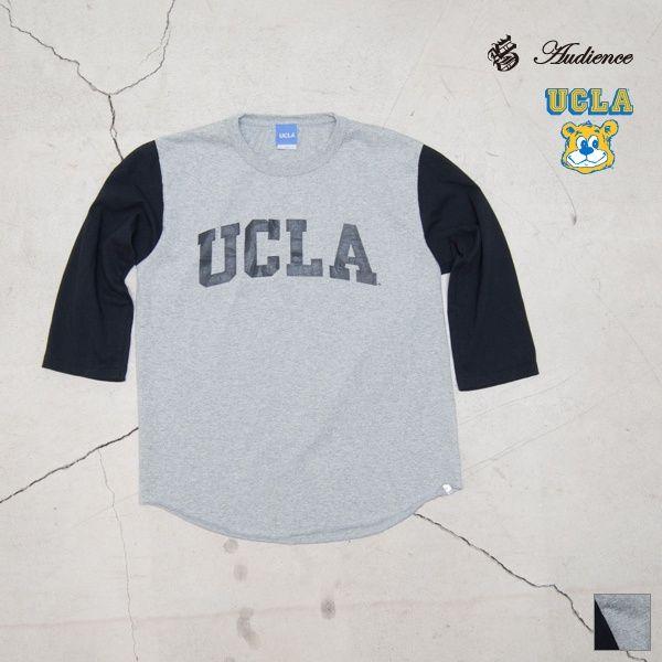 """2016年8月2日【 Web Store 更新 】  オールドプリント""""UCLA""""ヴィンテージセットインベースボールアンダーTEE / Audience [Men's][ http://www.aud-inc.com/product/2483 ] [Lady's][ http://www.aud-inc.com/product/2560 ]  #Tシャツ #高円寺 #UCLA #プリントT #ベースボールアンダー #セットイン #夏 #アメカジ #メンズ #mens #レディース #ladys #東京 #style #fashion #NowAvailable #webstore"""