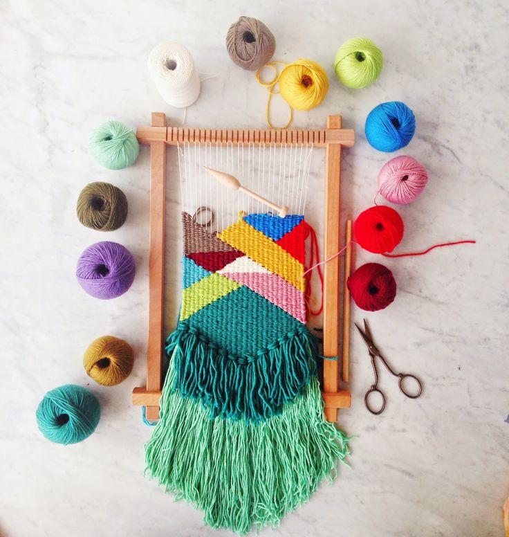 dream...... create...... inspire......workshops       nataliemillerworkshops  I run regular tapestry weaving, macramé, knitting and dy...