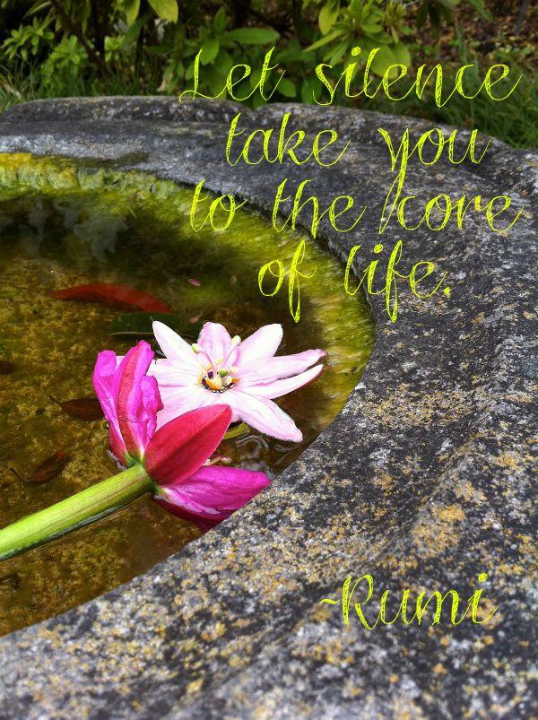 Let silence take you to the core of life... ~ RUMI WILD WOMAN SISTERHOODॐ #WildWomanSisterhood #rumi #wildwomanteachings #namaste #wildwomanmedicine