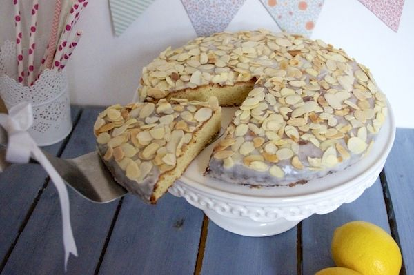 Gâteau Italien Citron & Amandes | Torta Di Mandorle •