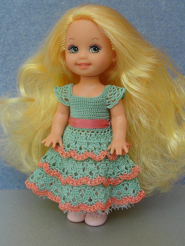 Pin By Sondra Scholz On Small To Tiny Doll Clothing Ideas Crochet