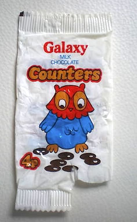 Galaxy Chocolate Counters 1970's