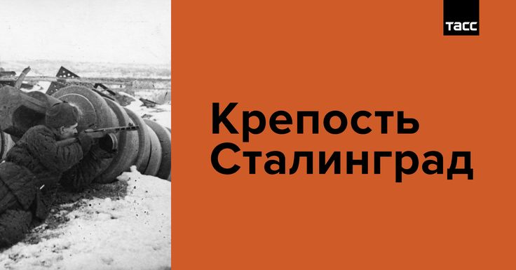 Спецпроект ТАСС к годовщине начала Сталинградской битвы