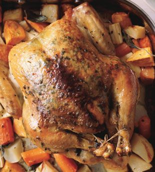Nothing like a perfect roasted chicken for Sunday dinner. I made this yesterday (Sunday). Garlic/Sage butter is key to this savory staple. 4 out of 5 stars.