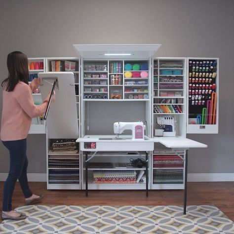 Ultimate Sewingbox In 2019 Sewing Rooms Diy Beauty Storage Quilting Room