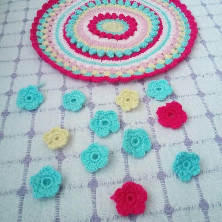 Crochet pille -orgu kirlent