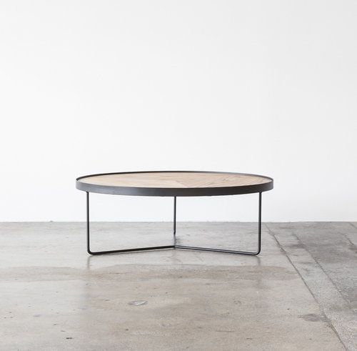 sia coffee table by project 82 | available in oak or walnut