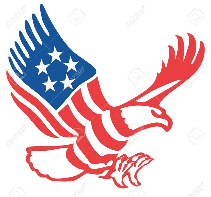 15 best eagles images on pinterest eagles search and searching rh pinterest com Patriotic Border Clip Art patriotic bald eagle clip art
