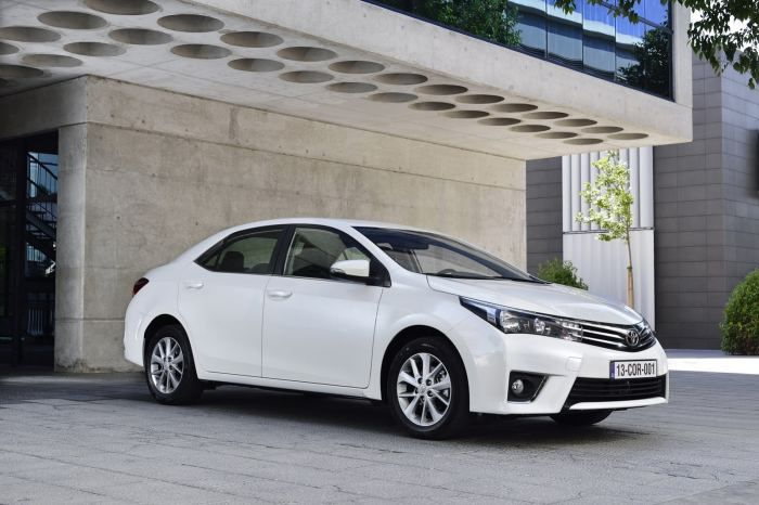 2013 Toyota Corolla European version