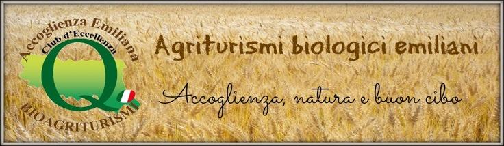 Turismo sostenibile in Italia: gli agriturismi biologici dell'Emilia Romagna vogliono promuovere uno stile di vita sostenibile attraverso il turismo rurale.