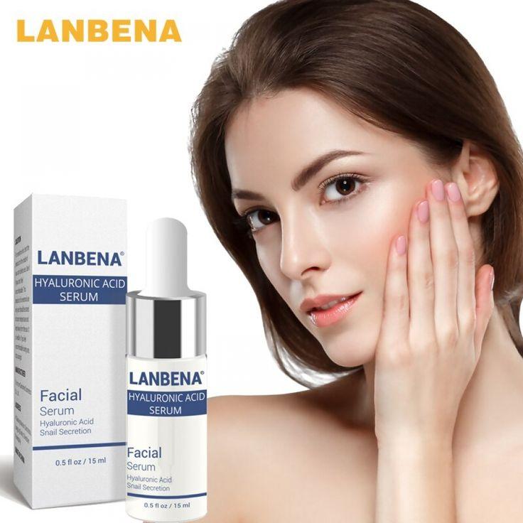LANBENA Shrink Pores Serum Blackhead Remove Acne Spot Oil Control Moisturizing Nourishing Anti Aging Repair Skin Firming Essence
