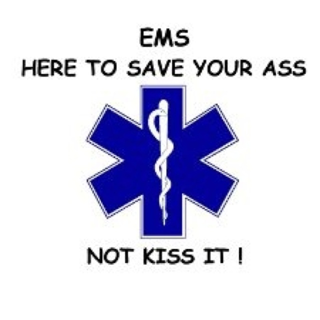 EMS: Work Funny, Emt Firefighters, Stars Of Life, Medical Stuff, Ff Emt, Nooot Kiss, Ems Life, Ems Stuff, Things