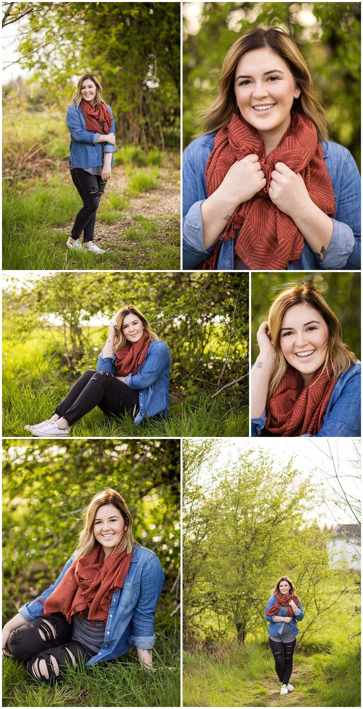 Senior Photoshoot in Portland Oregon // Senior Session Inspiration // High Schoo…