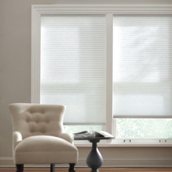 Home Decorators Collection Snow Drift Cordless Light Filtering Cellular Shade 47 375 In W X 64 In L 10793478753987 The Home Depot In 2021 Cellular Shades Light Filtering Cellular Shades Home Decorators Collection