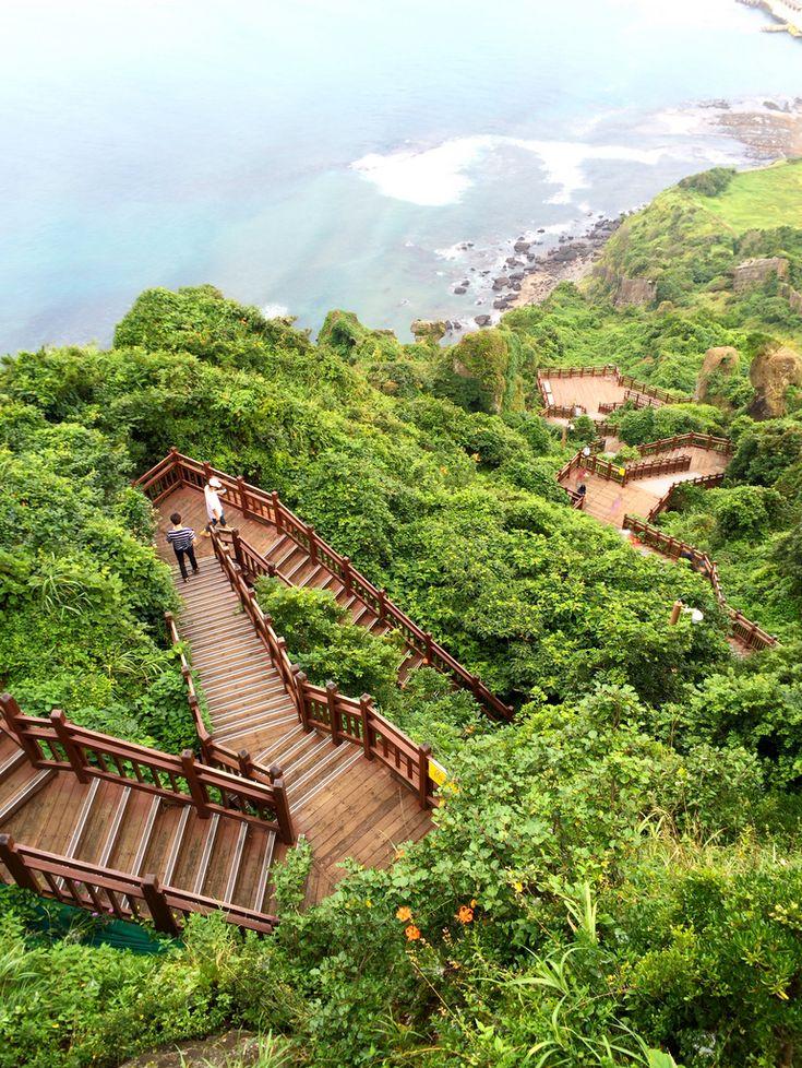 ✿ ❤ Jeju Island, Seongsan Ilchulbong Peak by JIN BEOM JEON