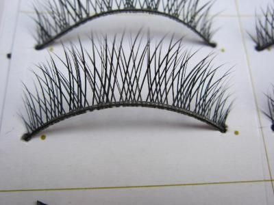 $4.18  Thick Long Cross Mink Eyelash Extension Strip Hand Made Eye Lash Reusable Eyelashes Permanent Lash Extra Lash 1 Box Eyelash BK1