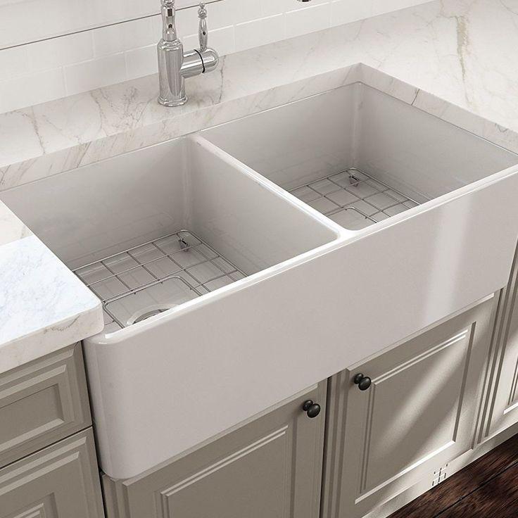 Double farmhouse sinks double apronfront sinks