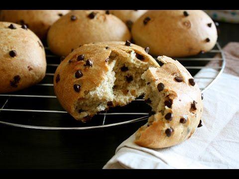 Come fare i panini al Cioccolato - Ricette Dolci e Cucina - YouTube