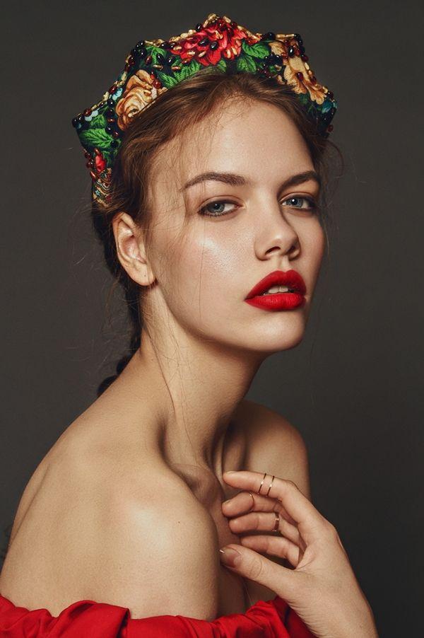Vasilisa by Anna Bakhareva, via Behance