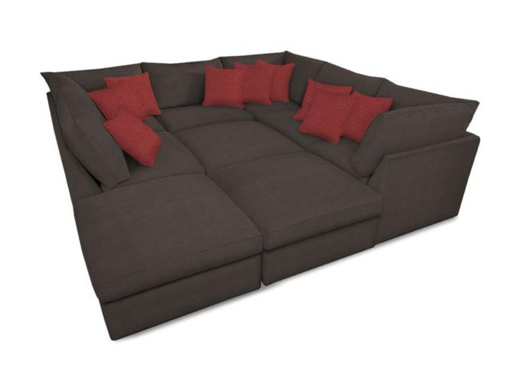 Couch, Comfy sectional and Sofas on Pinterest