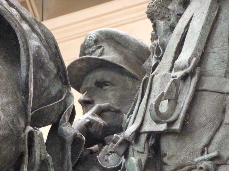 Bomber Command Memorial, Green Park, London.