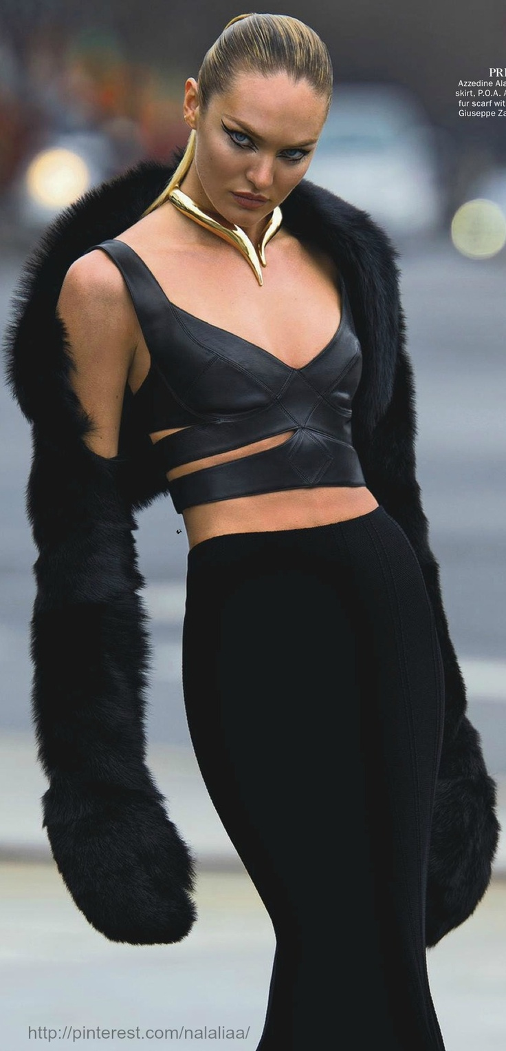 Candice Swanepoel by Hans Feurer for Vogue Australia