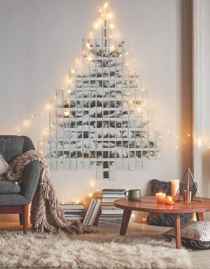 What can you do with a printer and a string of lights? Daily Dream Decor