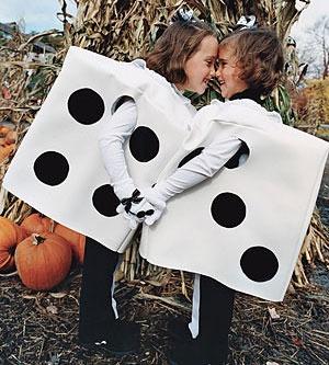 Good idea for a Halloween costume diy