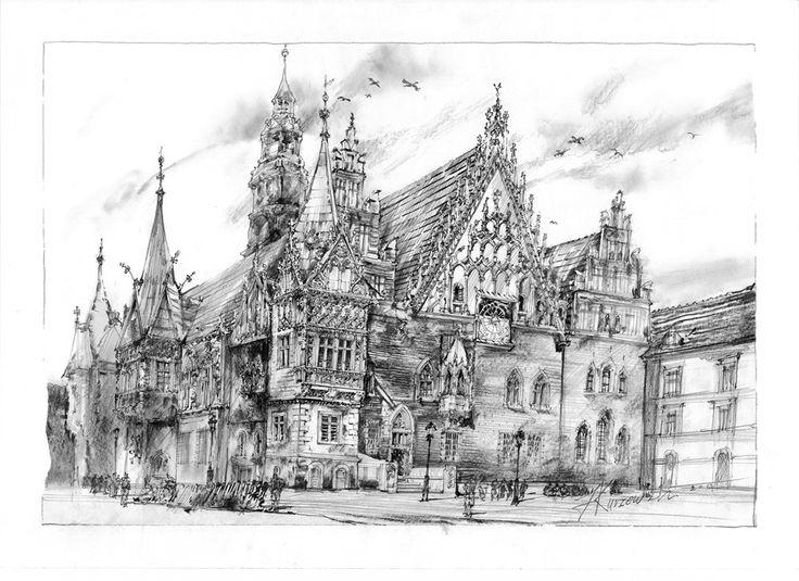 filip kurzewski; pencil on paper; 70x50cm / 27,5x19,5inch