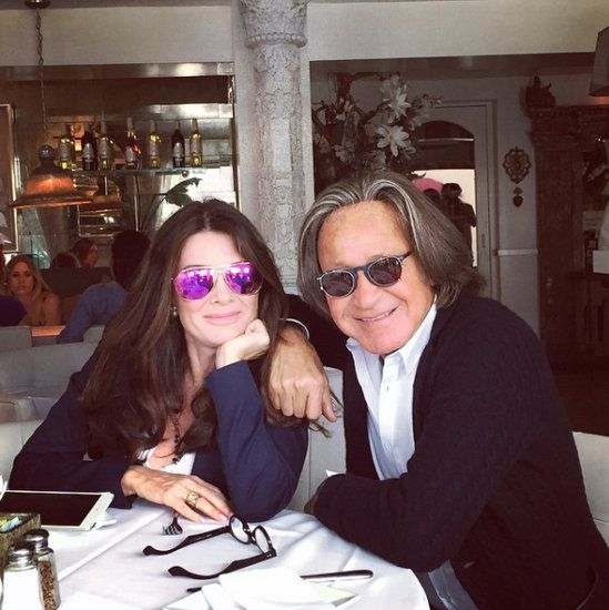 Mohamed Hadid & Lisa Vanderpump