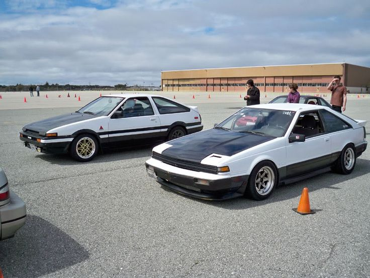 nissan s12 next to a trueno nissan and s12 84 88 200sx. Black Bedroom Furniture Sets. Home Design Ideas