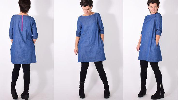 ZIPPER Kleid • Nähanleitung + Schnittmuster • leni pepunkt • nähen • DIY easy • sewing pattern women • Damen • dress • ebook • Reißverschluss