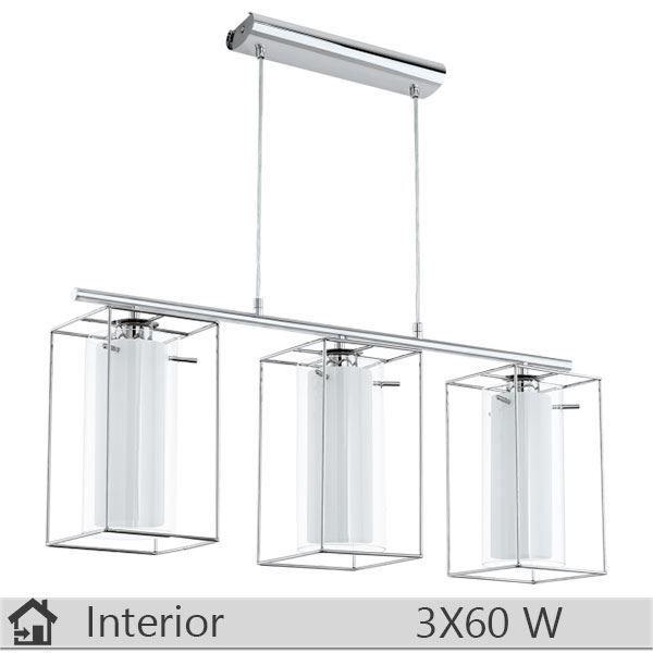 Pendul iluminat decorativ interior Eglo, gama Loncino, model 94378