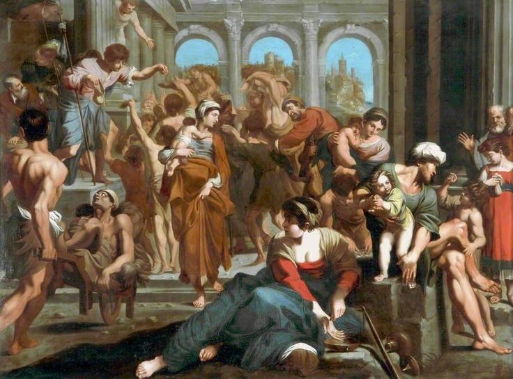 Saint Roche Distributing Alms, Annibale Carracci: Century Art, Roch Distributive, Carracci Renacimiento, Distributive Alm, Classic Art, Art Collection, St. Roch, Annib Carracci, Annibal Carracci