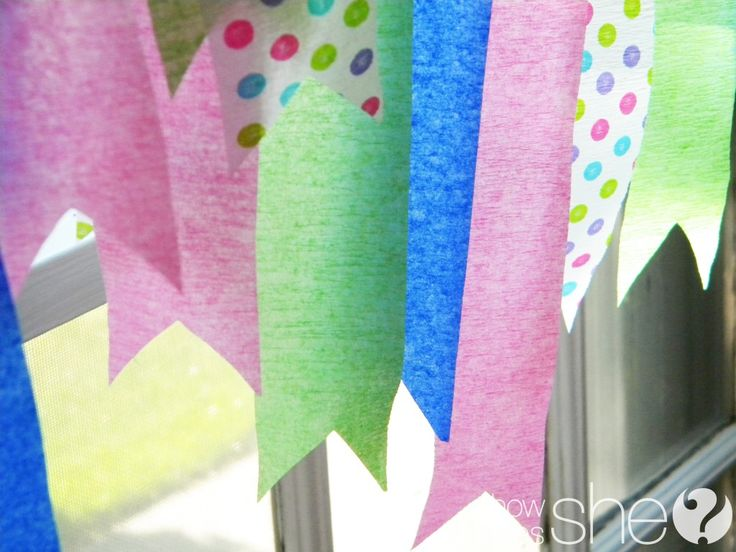 A New Twist on Crepe Paper Streamers!