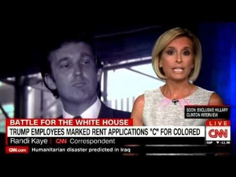 INSIDE THE DISCRIMINATION LAWSUIT TRUMP SETTLED ON CNN Breaking News - YouTube