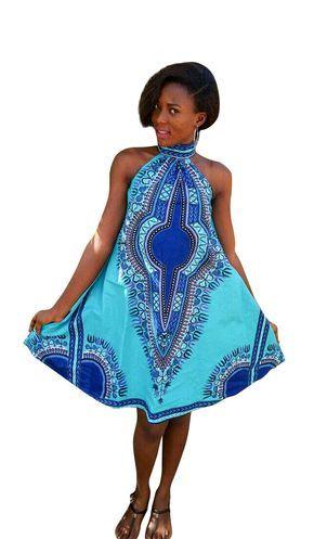Robe dashiki robe ankara robe africaine robe dété par DashikiMe