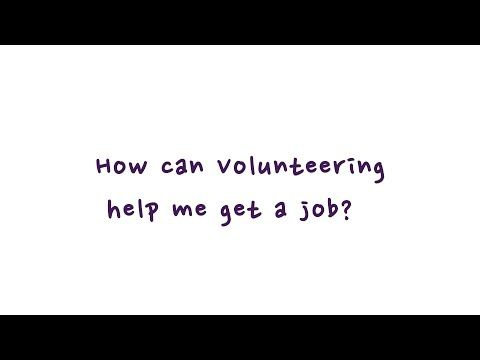 How can volunteering help me get a job? - http://LIFEWAYSVILLAGE.COM/how-to-find-a-job/how-can-volunteering-help-me-get-a-job/