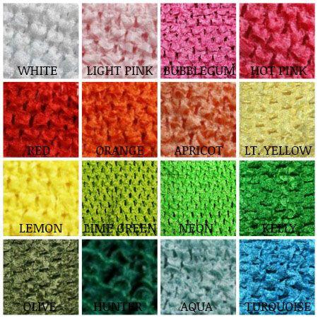 Crochet Headbands | Extra Large Crochet Tutu Top with Lining