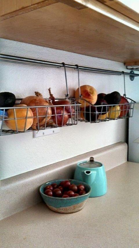 9 solutions de rangement pour une très petite cuisine