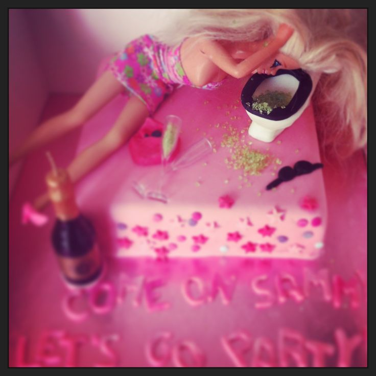 Drunken Barbie