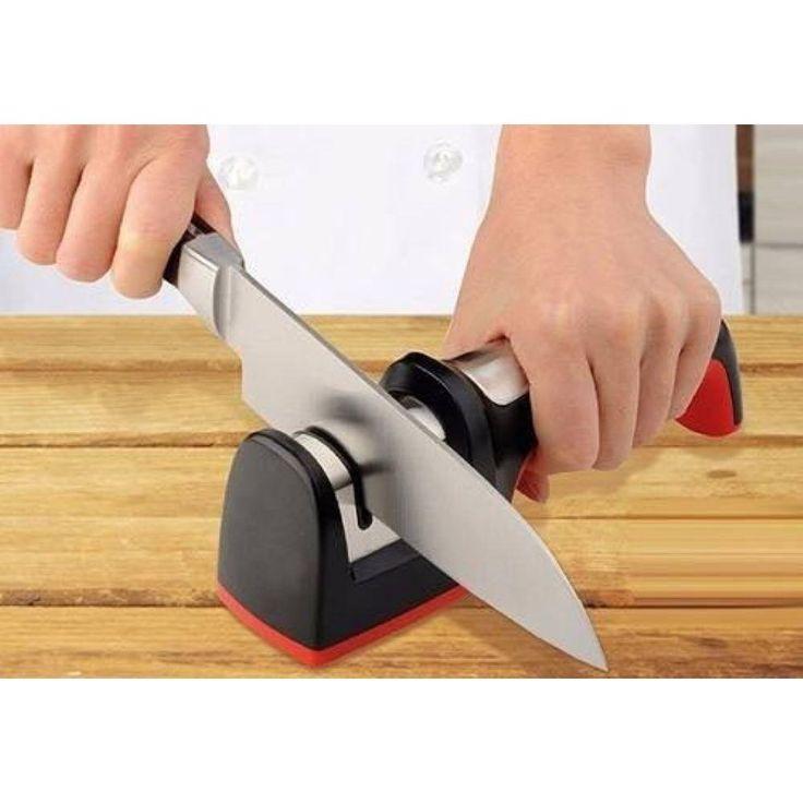 Amolador Manual Afiador De Facas Diamantado - Cozinha no Pontofrio.com
