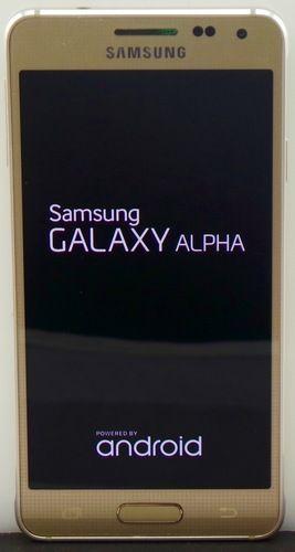 Samsung Galaxy Alpha 32GB Gold - AT&T: Great