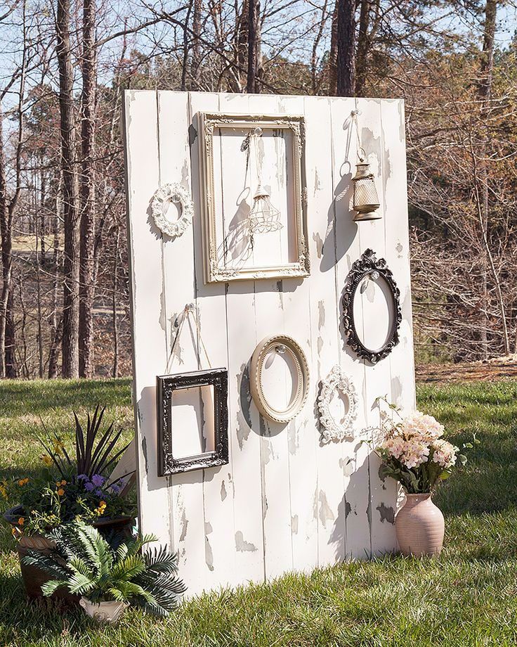 1000 ideas about rustic wedding backdrops on pinterest for Backdrop decoration for wedding