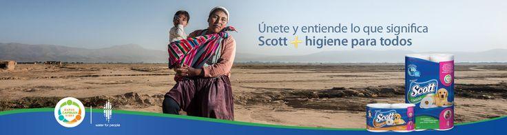 Compra la edición especial de Scott® y Water For People y ayuda a que miles de bolivianos tengan sanitarios dignos.